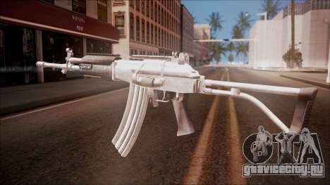 Galil AR v1 from Battlefield Hardline для GTA San Andreas второй скриншот