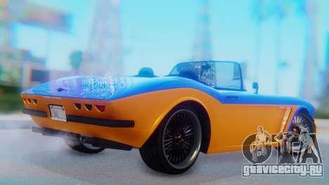 Invetero Coquette BlackFin v2 SA Plate для GTA San Andreas вид слева