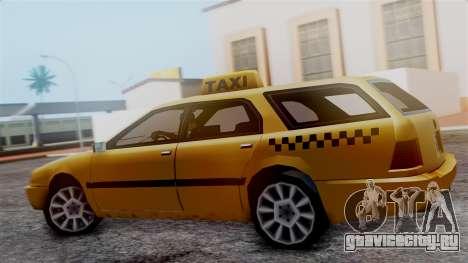 Stratum Taxi для GTA San Andreas вид сзади слева