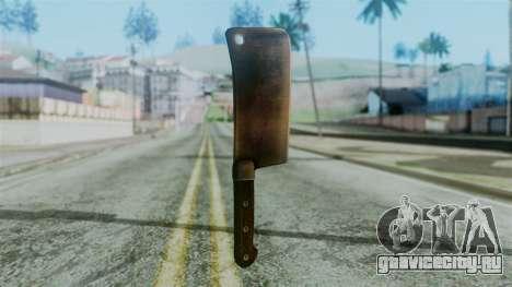Cleaver from Silent Hill Downpour для GTA San Andreas второй скриншот