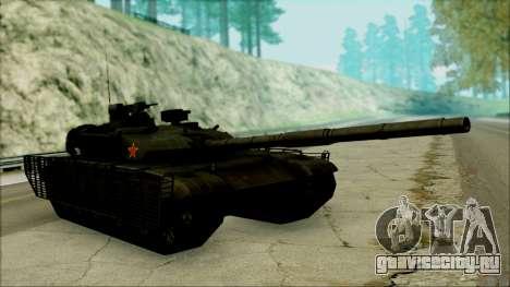 Type 99 BF4 для GTA San Andreas