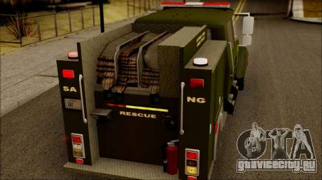 SANG Combat Rescue International для GTA San Andreas вид сбоку