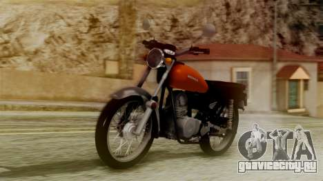 Honda CG 125 Classic для GTA San Andreas