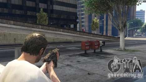 Gears of War Lancer 1.0.0 для GTA 5 восьмой скриншот