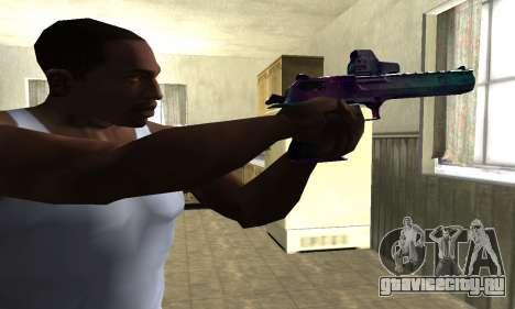 Space Deagle для GTA San Andreas второй скриншот