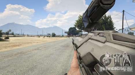 Halo 5 Light Rifle 1.0.0 для GTA 5 восьмой скриншот