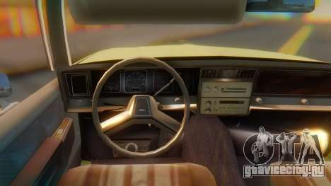 Chevrolet Caprice для GTA San Andreas вид справа