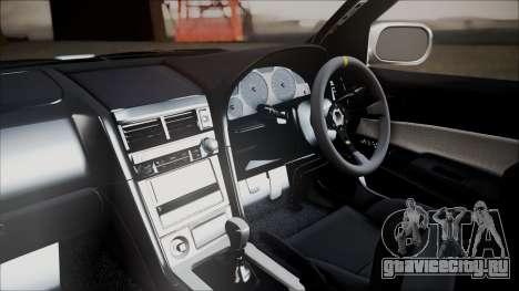 Nissan Skyline ER34 GT-Shop для GTA San Andreas вид справа