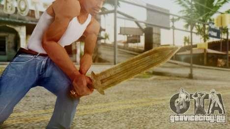 Dwarven Dagger для GTA San Andreas третий скриншот