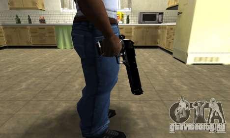 Black Cool Deagle для GTA San Andreas третий скриншот