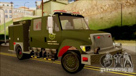 SANG Combat Rescue International для GTA San Andreas