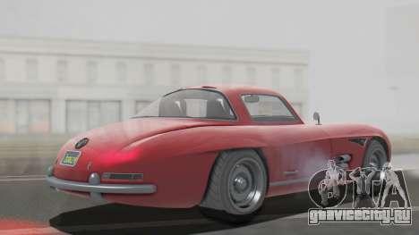 GTA 5 Benefactor Stirling для GTA San Andreas вид сзади слева