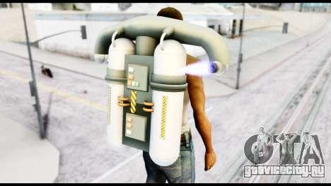 New SA Jetpack для GTA San Andreas третий скриншот