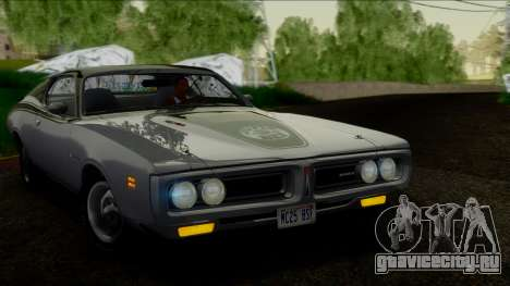Dodge Charger Super Bee 426 Hemi (WS23) 1971 IVF для GTA San Andreas вид справа
