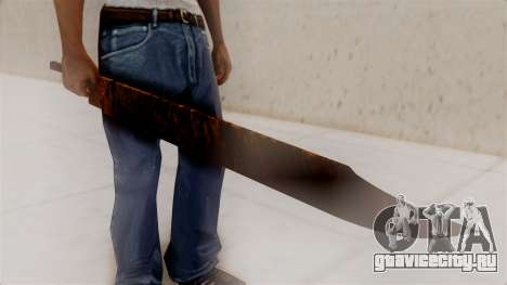 Great Knife для GTA San Andreas второй скриншот