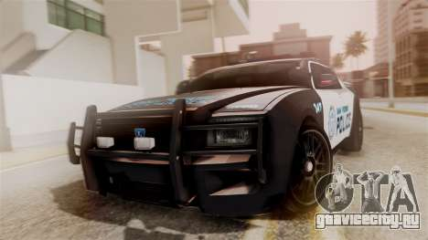 Hunter Citizen from Burnout Paradise Police SF для GTA San Andreas