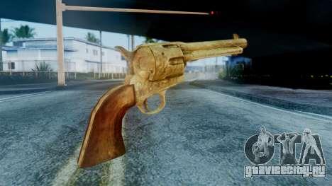 Red Dead Redemption Revolver Cattleman Sergio для GTA San Andreas второй скриншот