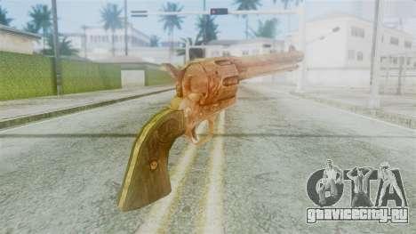 Red Dead Redemption Revolver Diego Nueva для GTA San Andreas второй скриншот