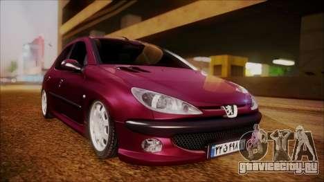Peugeot 206 Al Piso для GTA San Andreas