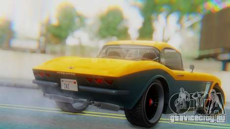 Invetero Coquette BlackFin Not Convertible для GTA San Andreas вид слева