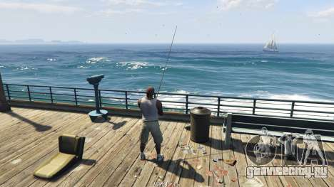 Fishing Mod 0.2.7 BETA для GTA 5