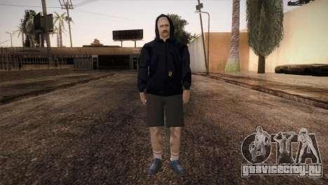Наёмник мафии в капюшоне для GTA San Andreas второй скриншот