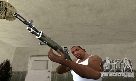 Military Rifle для GTA San Andreas второй скриншот