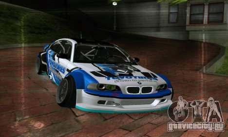 BMW M3 E46 ToyoTires GT-SHOP для GTA San Andreas вид справа