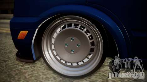 Ford Transit B.O. Yapım для GTA San Andreas вид сзади слева