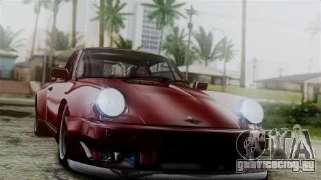 Porsche 911 Turbo (930) 1985 Kit C для GTA San Andreas двигатель