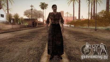 RE4 Isabel without Kerchief для GTA San Andreas второй скриншот