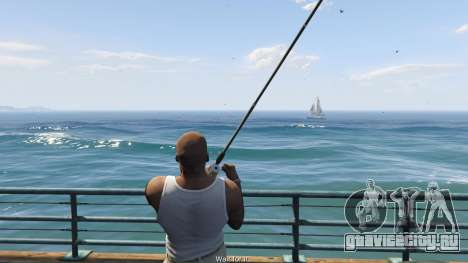 Fishing Mod 0.2.7 BETA для GTA 5 пятый скриншот