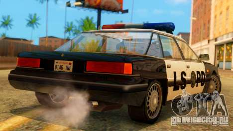 Police LS Intruder для GTA San Andreas вид слева