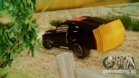 Shelby GT500 Death Race для GTA San Andreas вид слева