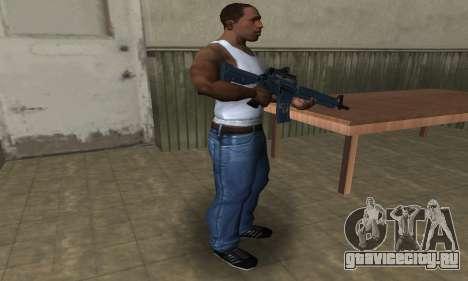 Counter Strike M4 для GTA San Andreas третий скриншот