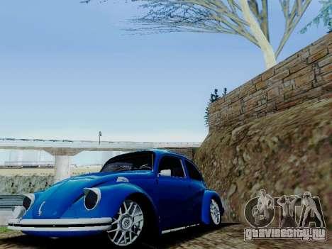 Volkswagen Beetle 1980 Stanced v1 для GTA San Andreas