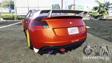 Maibatsu Penumbra Mitsubishi Eclipse для GTA 5