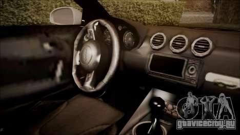 Audi TT RS 2011 v3 для GTA San Andreas вид справа
