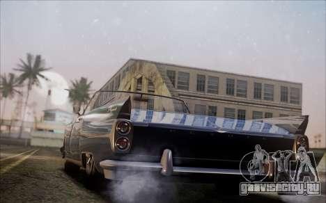GTA 5 Vapid Peyote для GTA San Andreas вид слева