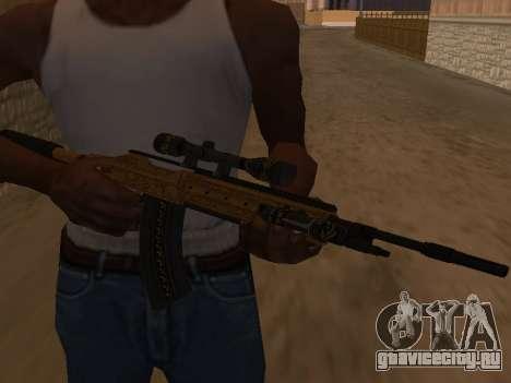 Marksman Rifle для GTA San Andreas второй скриншот