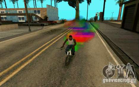 Bike Smoke для GTA San Andreas второй скриншот
