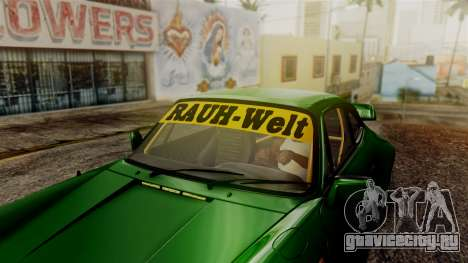 Porsche 911 Turbo (930) 1985 Kit A PJ для GTA San Andreas