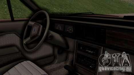 Ford LTD LX 1986 для GTA San Andreas вид справа