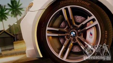 BMW 7 Series F02 2013 для GTA San Andreas вид сзади слева