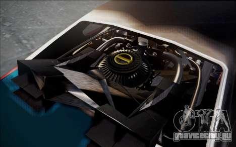 BTTF1-Clover для GTA San Andreas вид справа