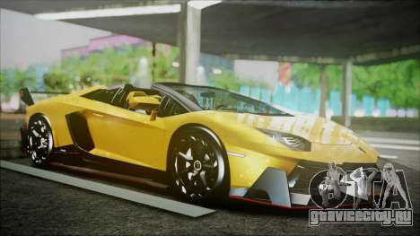 Lamborghini Veneno LP700-4 AVSM Roadster Version для GTA San Andreas вид слева