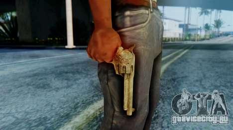 Red Dead Redemption Revolver Cattleman Sergio для GTA San Andreas третий скриншот