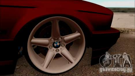 BMW M5 Touring E34 для GTA San Andreas вид сзади