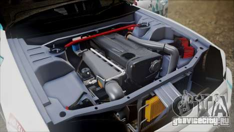 Nissan Skyline ER34 GT-Shop для GTA San Andreas вид сзади