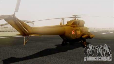 PZL W-3PL Głuszec для GTA San Andreas вид слева